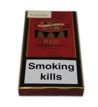 Handelsgold Flavoured Cigarillos Red (Cherry) – Pack of 5